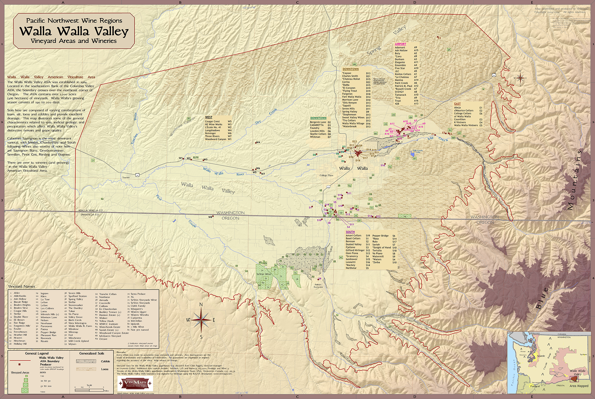 Pacific Northwest Wine Regions