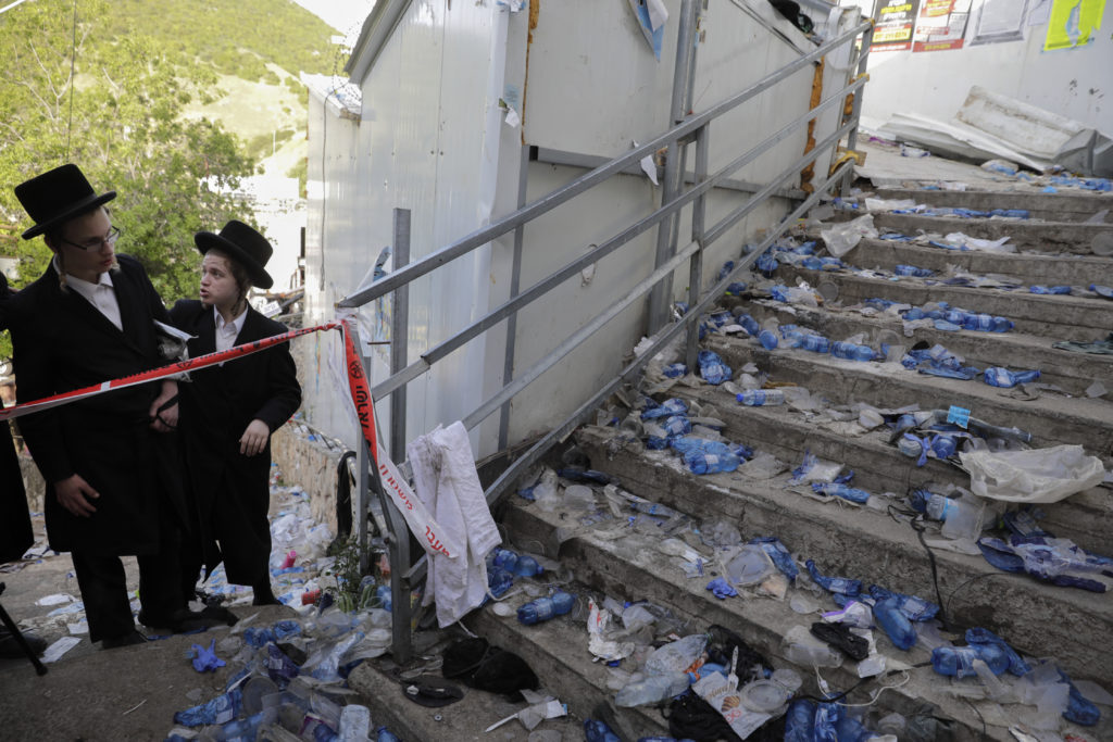 Photos of The Lag B'Omer Tragedy 6