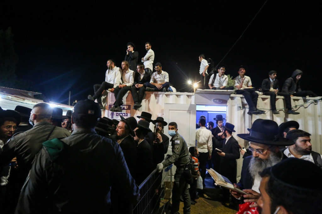 Photos of The Lag B'Omer Tragedy 27