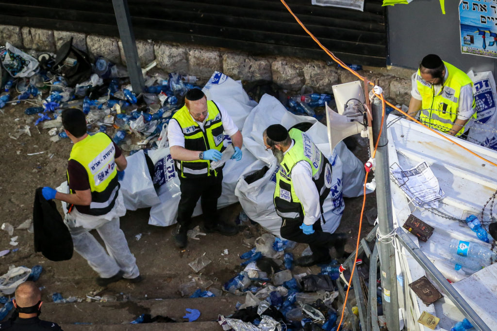 Photos of The Lag B'Omer Tragedy 32