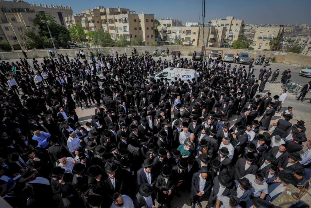 Photos of The Lag B'Omer Tragedy 40