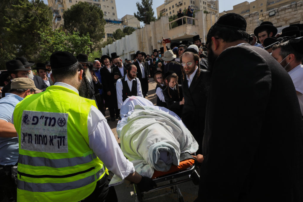 Photos of The Lag B'Omer Tragedy 41