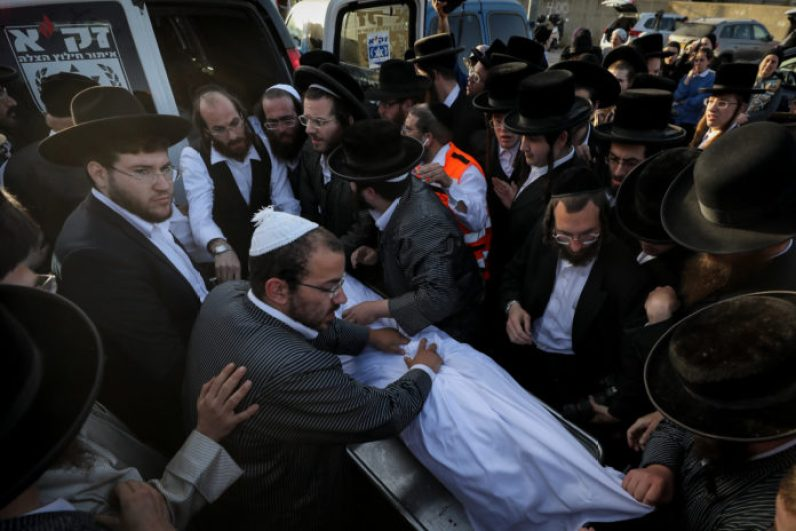 Photos of The Lag B'Omer Tragedy 1