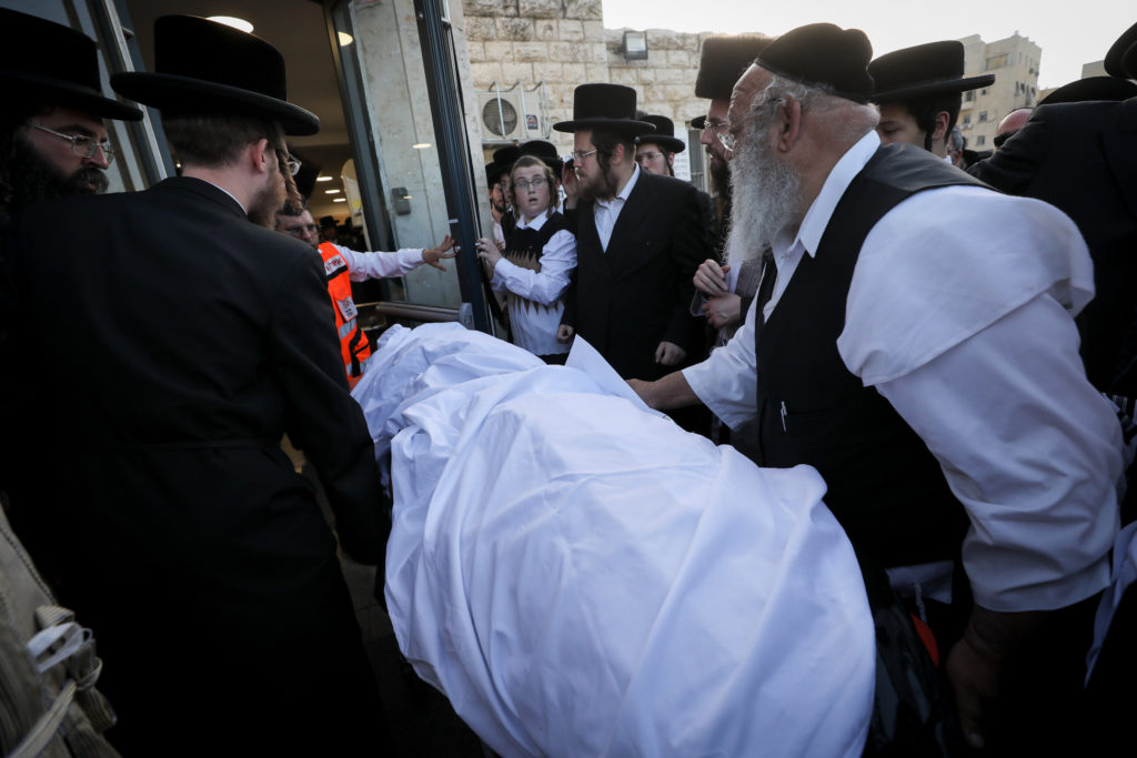 Photos of The Lag B'Omer Tragedy 52