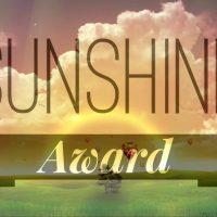 My Second Sunshine Blogger Award
