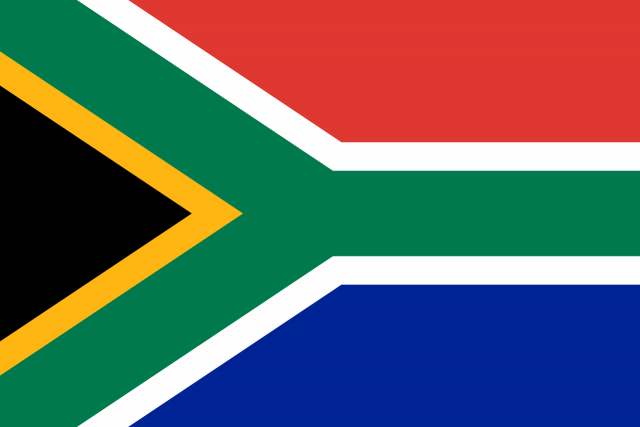 South African flag (pic: file image)