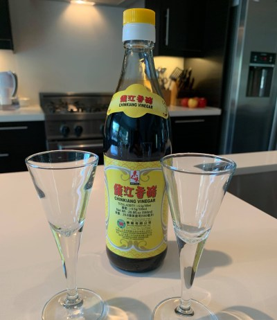 A bottle of Chinese vinegar