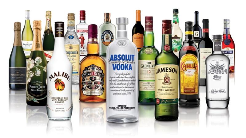 Pernod Ricard brands (pic: Pernod Ricard)