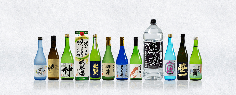 Yamanashi sakes (pic: Yamanashi Sake and Shochu Makers Association)