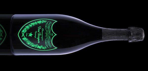 Dom Perignon Luminous Millesime Brut 200 vintage green label (pic: Internet)