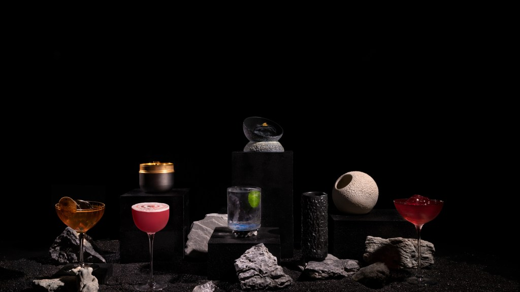 Moon inspired cocktail menu at Darkside (pic: Darkside)