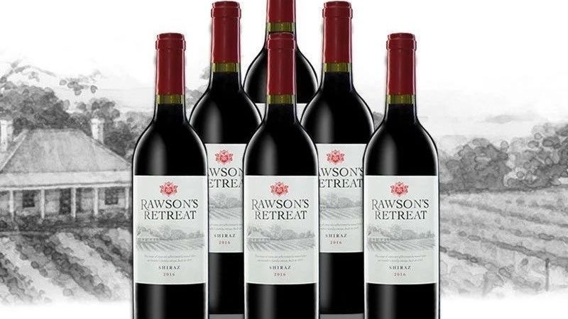 New Rawson's Retreat wines are made in South Africa for China (pic: Internet)
