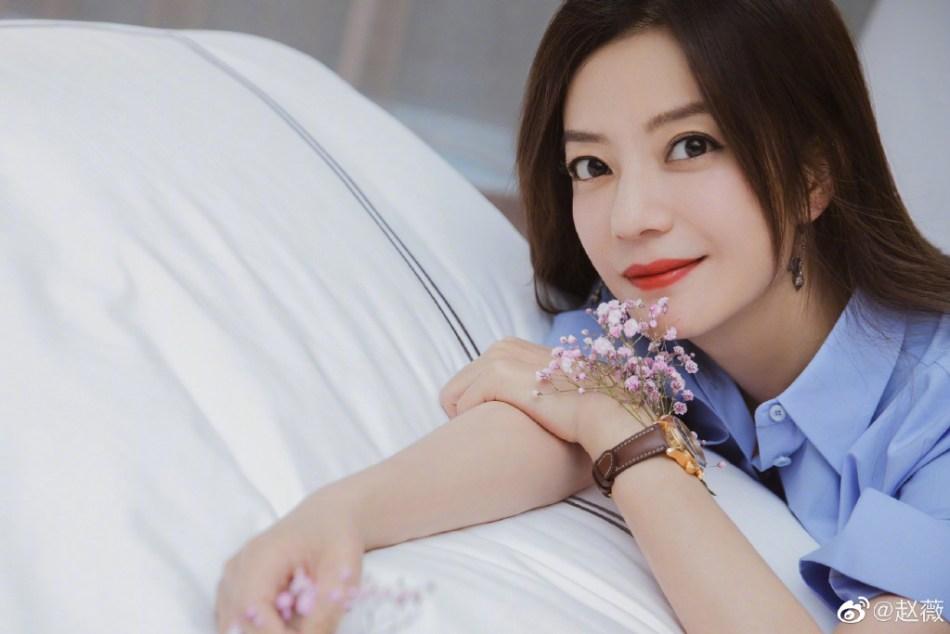Zhao Wei (pic: Zhao Wei's official Weibo account)