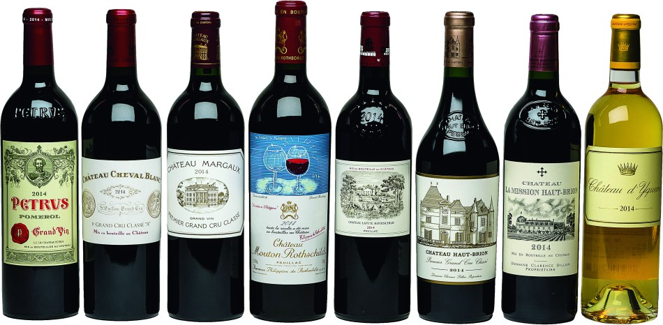 Top Bordeaux wines at the upcoming auction on October 10 (pic: Kaigai Fine Wine Asia)