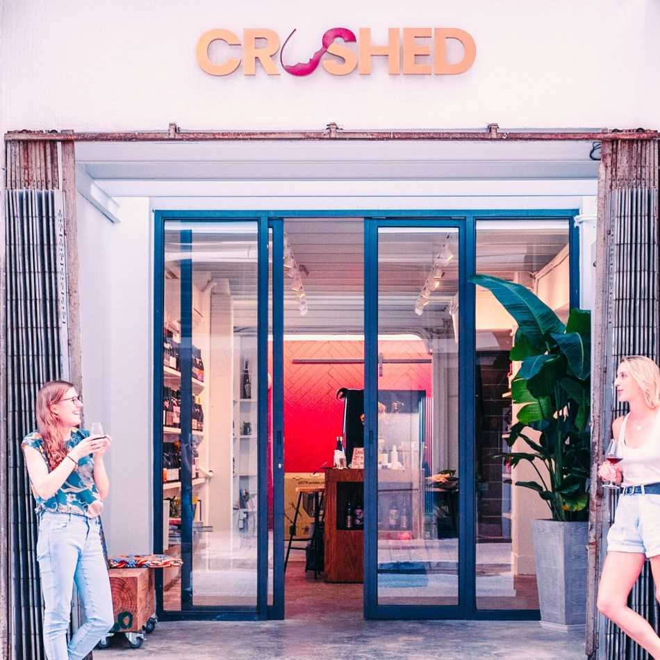 CRUSHED, a new wine shop in Sai Ying Pun, is now open (pic: Crushed)