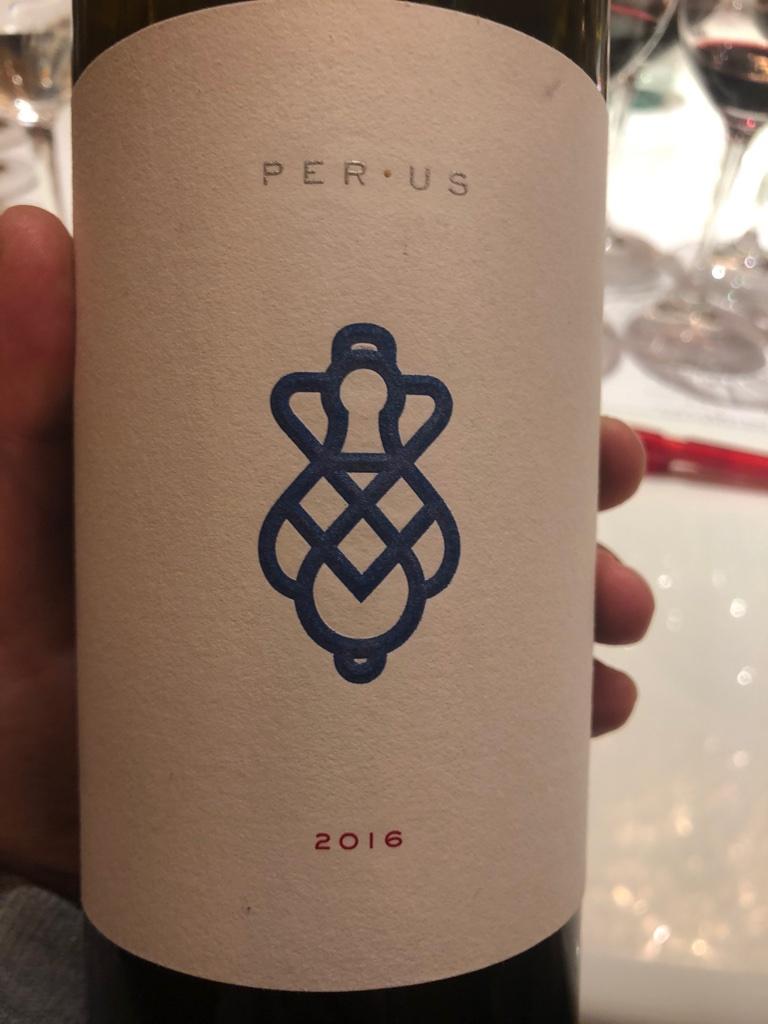 Вино PerUs Janeen 2016. Голубой лейбл