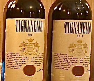 вино Тигнанелло 2011, 2013