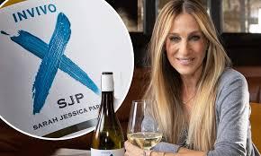 sarah jessica parker Сара Джессика Паркер вино Инвиво селебрити вино