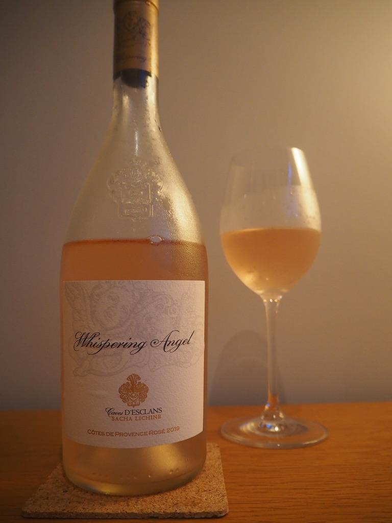 Вино к еде: рататуй + прованское розе whispering angel шепчущий ангел Шато д'Эклан chateau d'eclans
