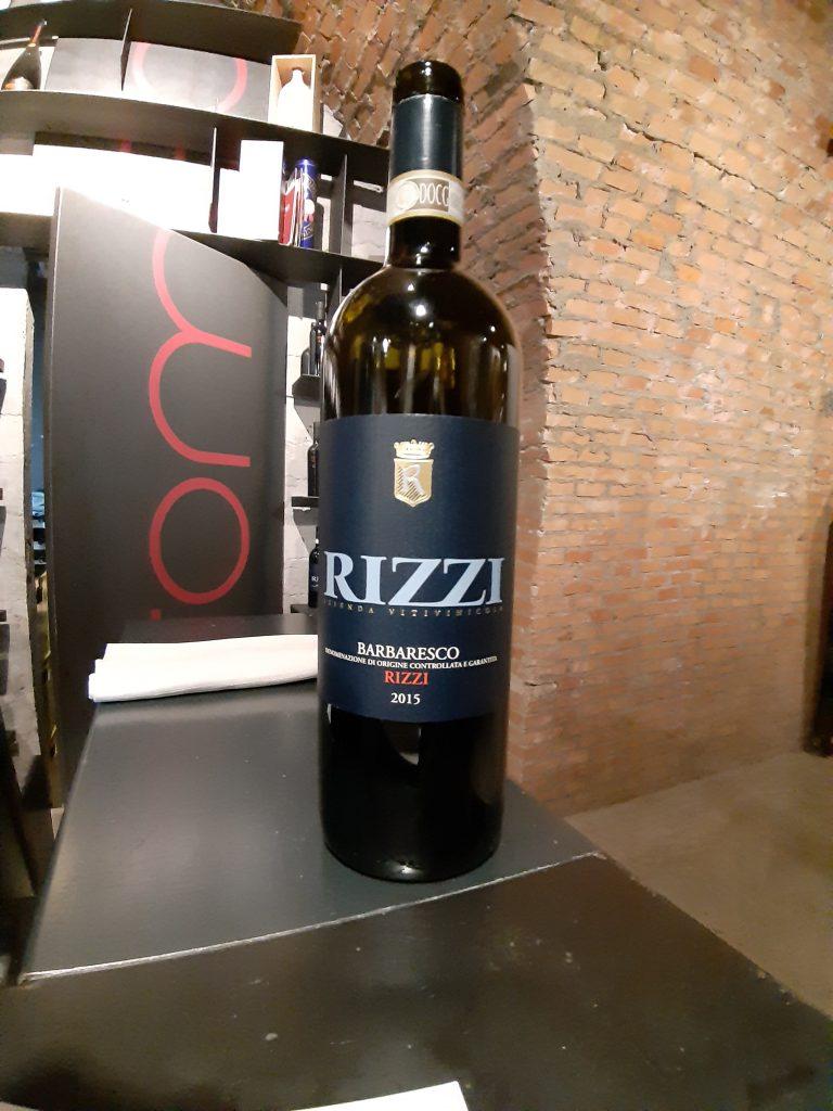Barbaresco Rizzi 2015 Rizzi