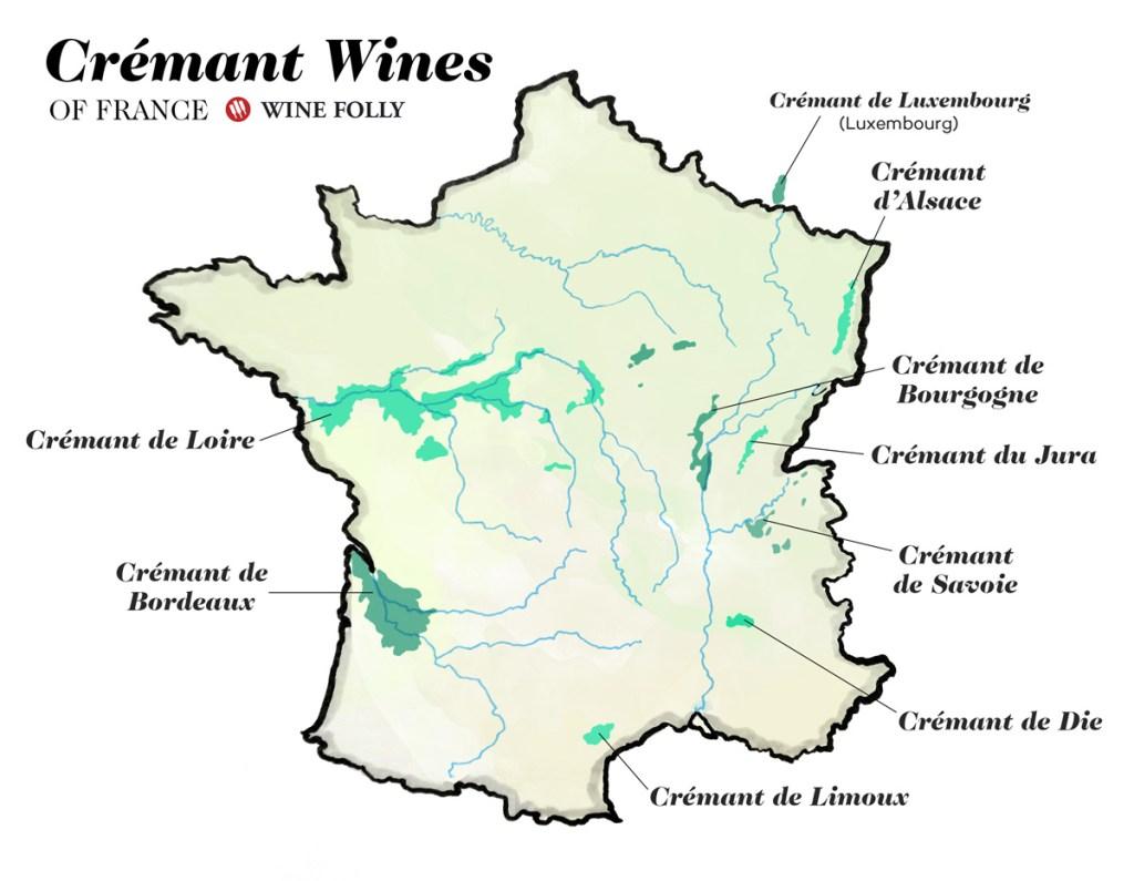 Креман, карта