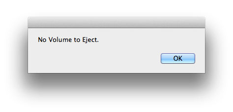 None to Eject