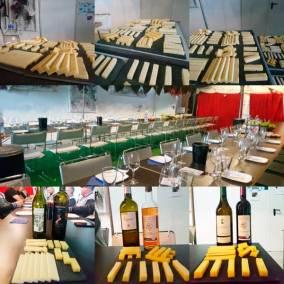 Vins et Fromages pour sortie d'entreprise