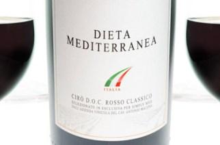 """Vinitaly 2013 - presentata in prima mondiale l'Etichetta """"DIETA MEDITERRANEA Wines of Italy"""""""