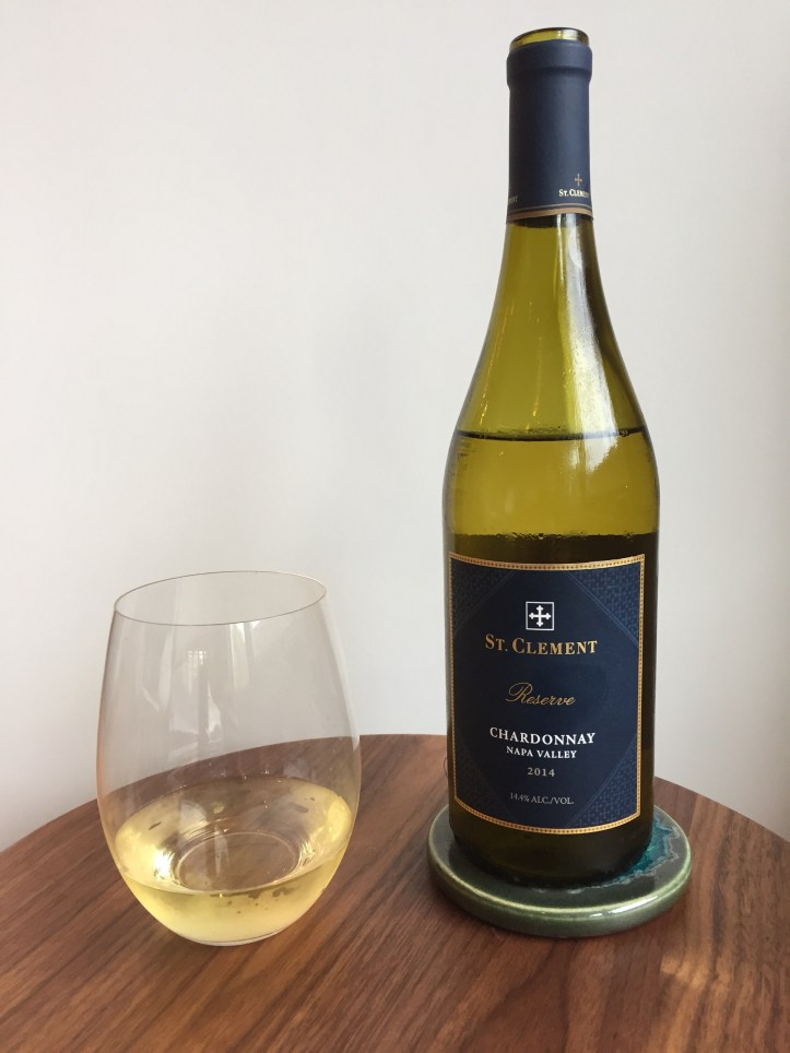2014 St. Clement Chardonnay, Napa Valley