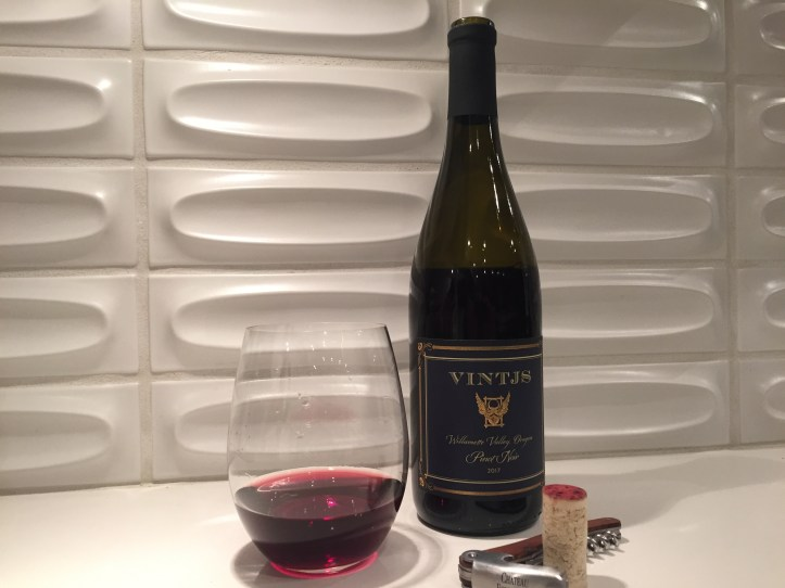 VINTJS Willamette Valley Oregon 2017 Pinot Noir