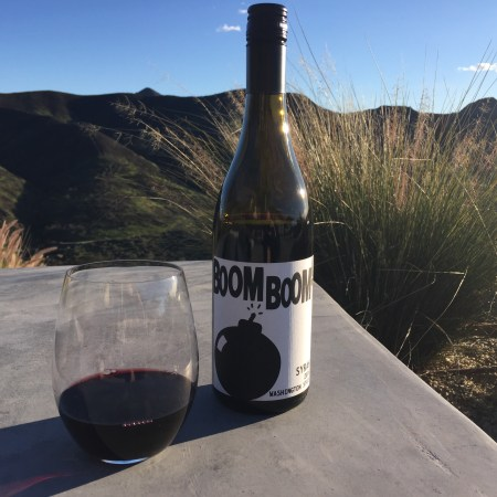 Bottle of 2016 Charles Smith Wines Boom Boom Syrah, Washington State