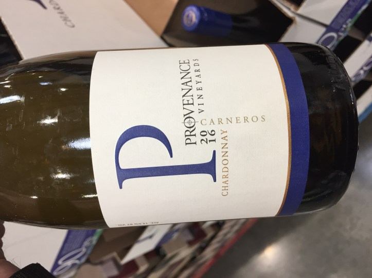 Bottle of 2016 Provenance Vineyards Chardonnay $12.99 at Costco