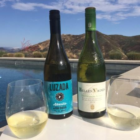 Luzada 2017 Albarino and 2018 Belles Vignes Sauvignon Blanc