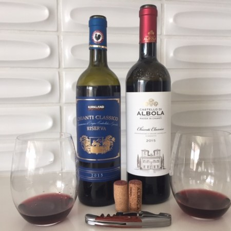 Comparing two 2015 Chiantis from Costco