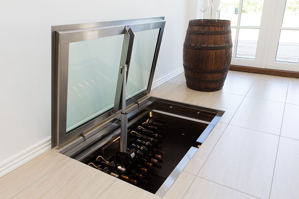 Vinorage Vinkaelder 140 Flasker 1000 X 1000 X 825 Mm