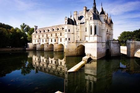 Castillo en valle del Loira