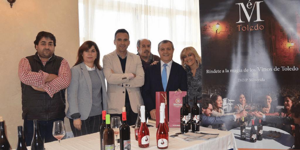 La DOP Méntrida da a conocer sus vinos a los hosteleros de Toledo