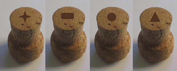 simbolos en el corcho de vino espumoso