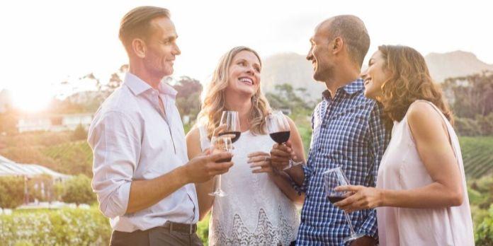 momentos para beber vino
