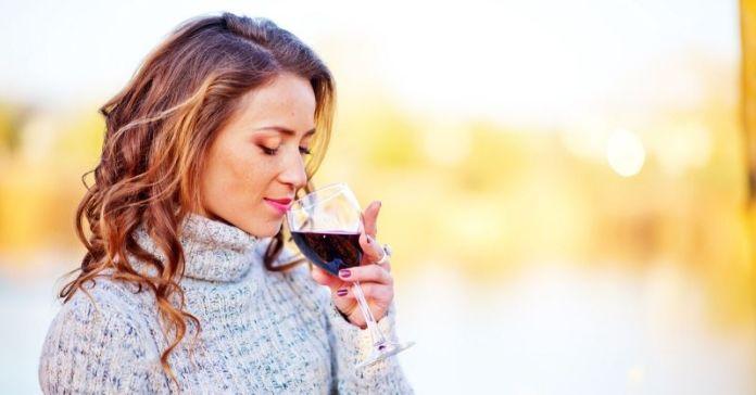 efecto vino tinto en las mujeres