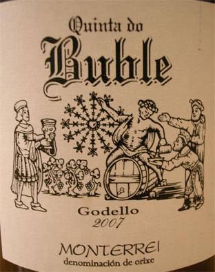 Etiqueta del vino Blanco