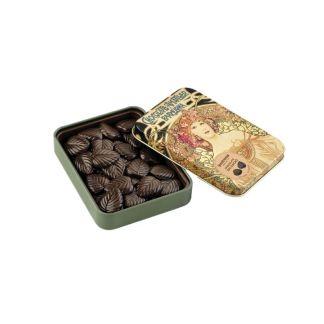 chocolate amatller lata hojas 70