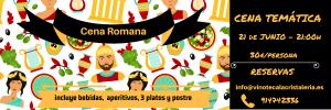 carrusel cena romana