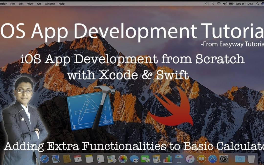 5. iOS App Development with Xcode & Swift – Adding extra functionalities to the Basic Calculator