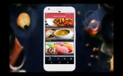 Develop android and ios app with admin website for restaurant