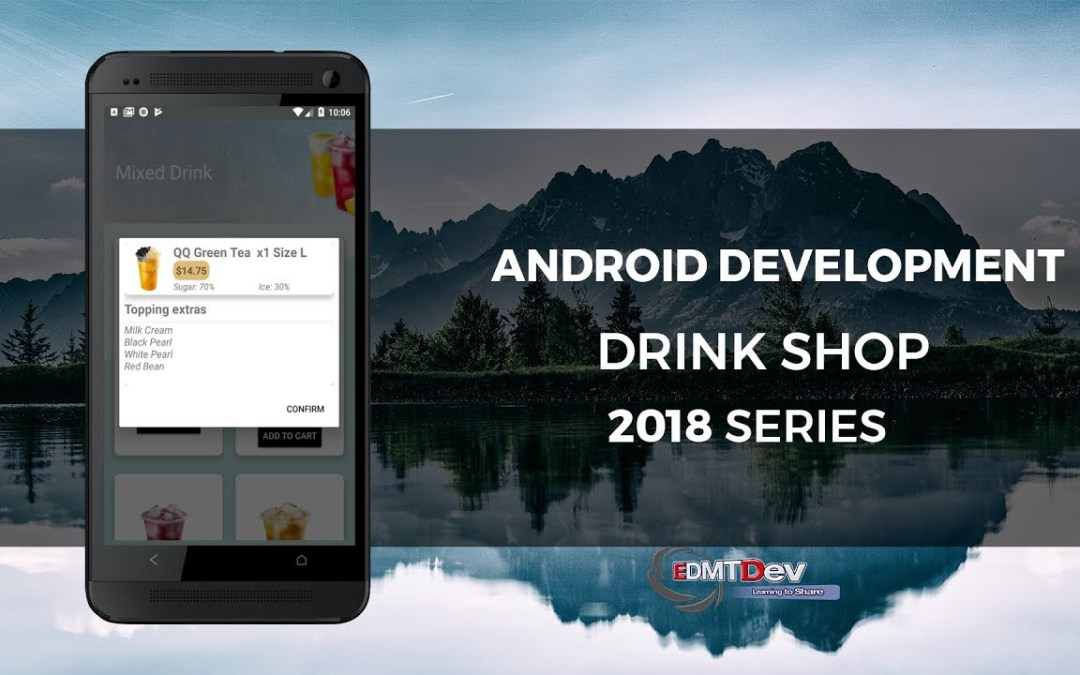 Android Development Tutorial – Drink Shop App part 9 Create Room Database to save Cart