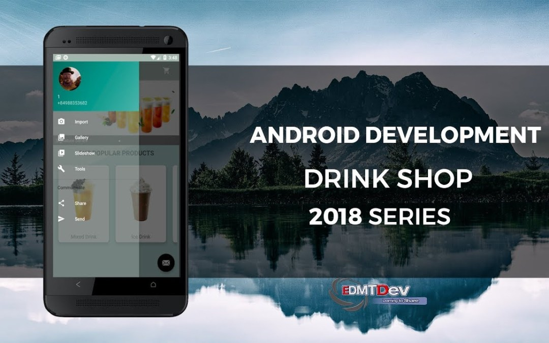 Android Development Tutorial – Drink Shop App part 13 Upload avatar