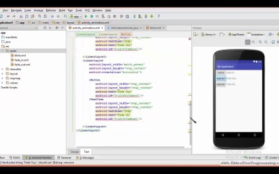 49. Blink animation in android in Urdu / Hindi- Android App development