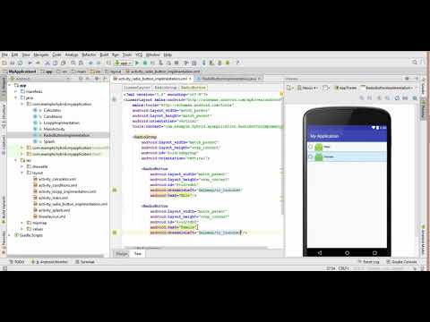 32. Radio button in android studio Urdu/Hindi | Android app development for beginners