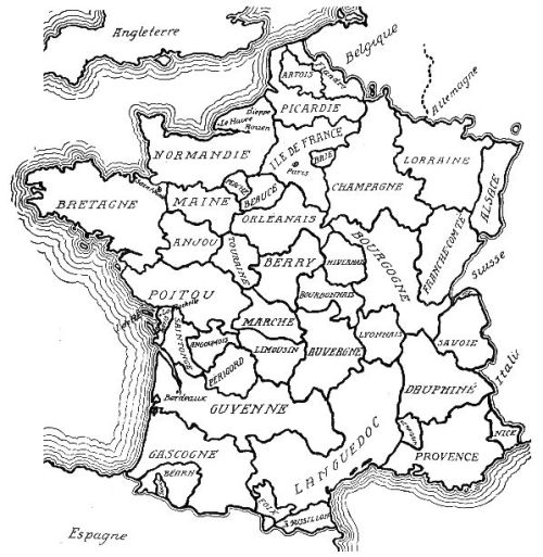 Historic Regions of Southwest France (Photo courtesy of hubertbrooks.com
